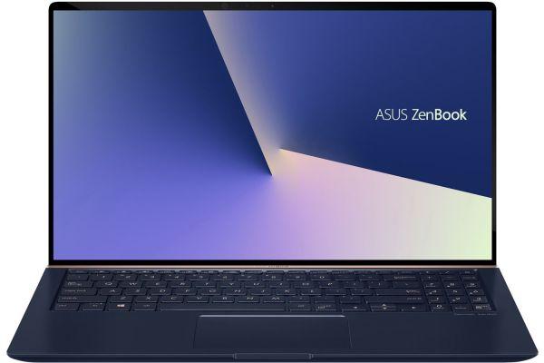 "Asus ZenBook 15 Royal Blue 15.6"" Laptop Intel i7-8565U 16GB RAM 512GB SSD, NVIDIA GeForce GTX 1050 MaxQ - UX533FD-DH74"