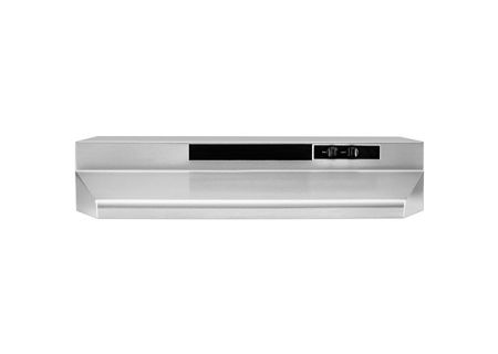 """Whirlpool 36"""" Stainless Under-Cabinet Hood - UXT4236AAS"""