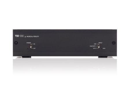 Musical Fidelity V90-DAC Black Digital Analog Converter  - MUFIV90DACBK