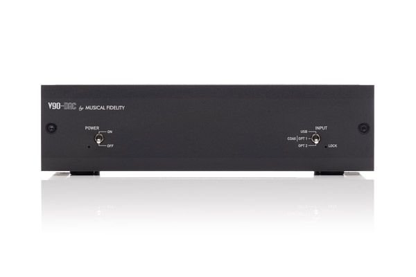 Large image of Musical Fidelity V90-DAC Black Digital Analog Converter - MUFIV90DACBK
