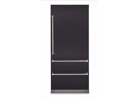 "Viking Professional 7 Series 36"" Graphite Gray Built-In Bottom-Freezer Refrigerator - VBI7360WRGG"