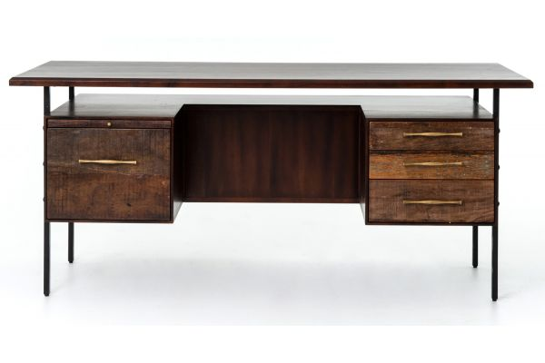 Four Hands Bina Collection Lauren Desk - VBNA-DK815