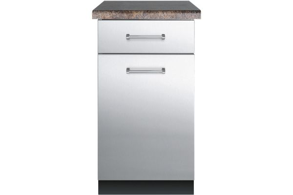 """Large image of Viking 18"""" Stainless Steel Cabinet - VBO181SS"""