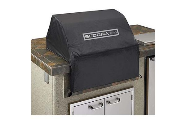 """Large image of Lynx 30"""" Black Sedona Series Grill Cover - VC500"""