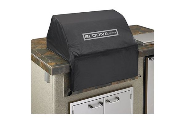 "Large image of Lynx 36"" Black Sedona Series Grill Cover - VC600"