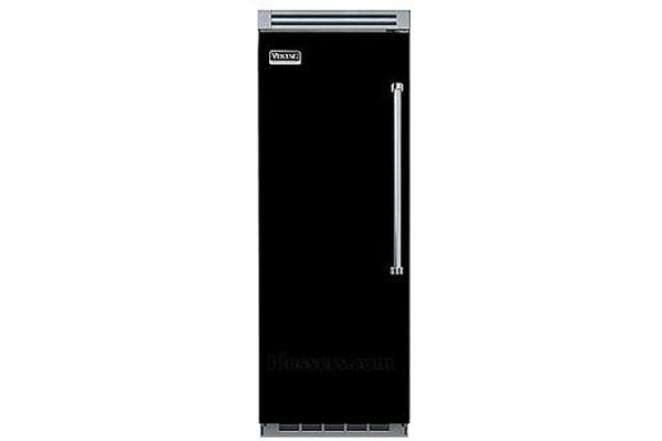 "Large image of Viking QuietCool 30"" Black Left-Hinge Built-In All Freezer - VCFB5303LBK"