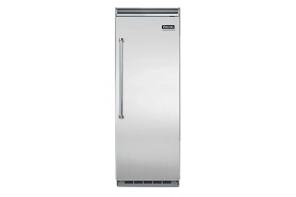 "Large image of Viking 5 Series QuietCool 30"" Stainless Steel Right-Hinge Built-In All Refrigerator - VCRB5303RSS"