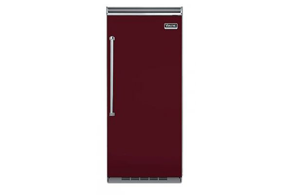"Viking 36"" Professional 5 Series Built-In Burgundy All Refrigerator - VCRB5363RBU"