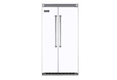 Viking - VCSB5422WH - Built-In Side-By-Side Refrigerators