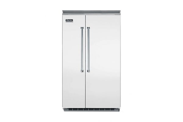 "Viking 48"" Professional 5 Series Stainless Steel Built-In Side-By-Side Refrigerator - VCSB5483SS"