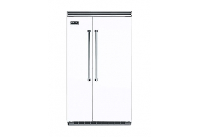 Viking - VCSB5483WH - Built-In Side-by-Side Refrigerators
