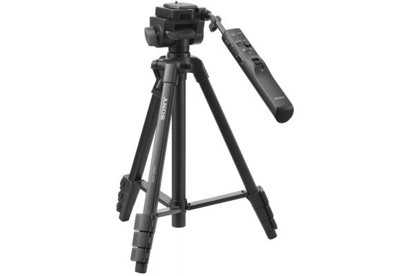 Large image of Sony Black Compact Remote Control Tripod - VCTVPR1