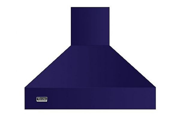 "Viking 36"" Professional 5 Series Cobalt Blue Chimney Wall Hood - VCWH53648CB"