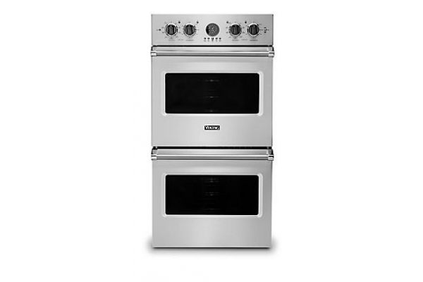 "Viking 27"" Professional 5 Series Stainless Steel Premiere Double Wall Oven - VDOE527SS"
