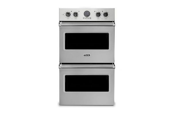 "Large image of Viking 30"" Professional 5 Series Stainless Steel Premiere Double Wall Oven - VDOE530SS"