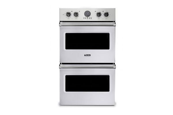 """Large image of Viking 30"""" Professional 5 Series White Premiere Double Wall Oven - VDOE530WH"""