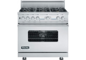 Viking - VDSC536T6BSS - Dual Fuel Ranges