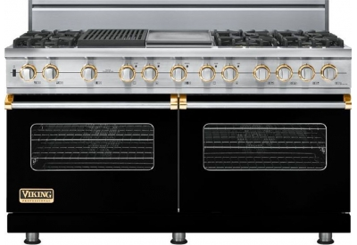 Viking - VDSC5606GQBKBR - Dual Fuel Ranges