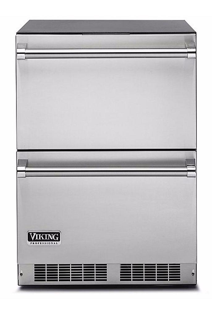 "Viking Professional 24"" Refrigerator Drawers - VDUO5240D"