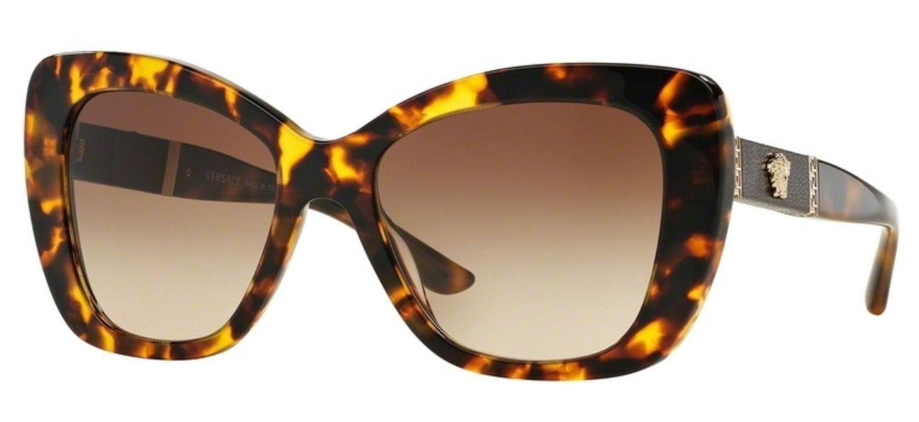 1e4a3a52a6e3 Versace Havana Butterfly Sunglasses - VE4305Q 514813