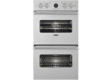 "Viking Professional Series Premiere 27"" Stainless Steel Built-In Double Electric Oven - VEDO5272SS"