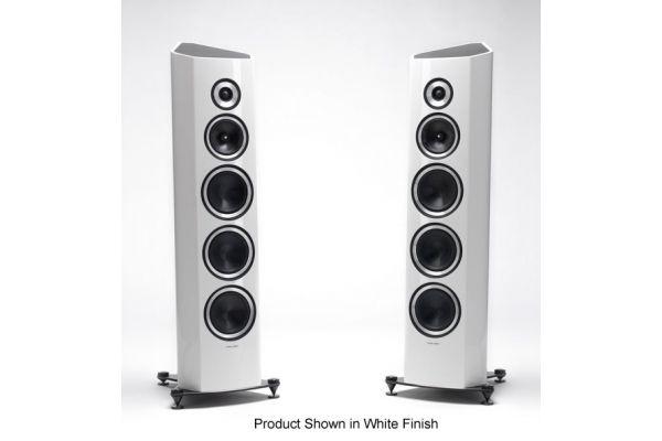 Sonus Faber Venere S 3-Way Piano Black Floor Standing Speakers (Pair) - VENERESGB
