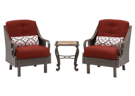 Hanover - VENTURA3PC-RED - Patio Seating Sets