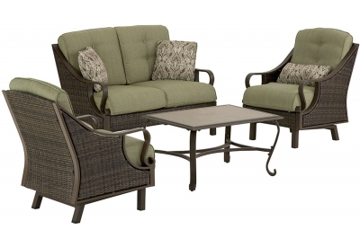 Hanover - VENTURA4PC - Patio Furniture