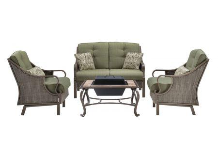 Hanover - VENTURA4PCFP-MDW - Patio Seating Sets
