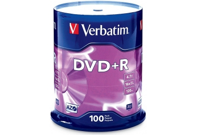 Verbatim - VER95098 - Recordable DVD Discs