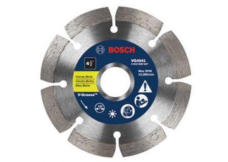 "Bosch Tools 4-1/2"" Segmented Rim V-Groove Diamond Blade - VG4541"