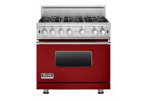 Viking - VGCC5366AR - Free Standing Gas Ranges & Stoves