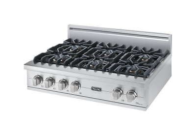 Viking - VGRT5366BSSLP - Gas Cooktops
