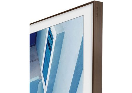 "Samsung 55"" The Frame Customizable Bezel In Walnut - VG-SCFM55DW/ZA"