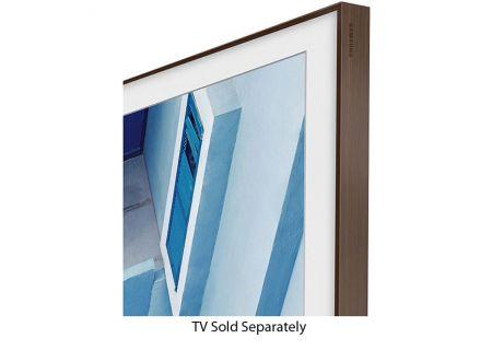 "Samsung 65"" The Frame Customizable Bezel In Walnut - VG-SCFM65DW/ZA"
