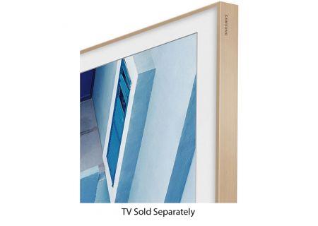 "Samsung 55"" The Frame Customizable Bezel In Oak - VG-SCFM55LW/ZA"