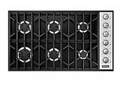 Viking - VGSU1646BBK - Gas Cooktops