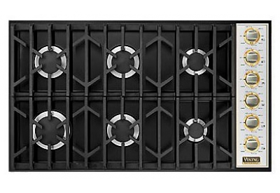 Viking - VGSU1646BBKBR - Gas Cooktops