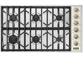 Viking - VGSU1646BSSBR - Gas Cooktops