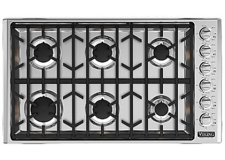 Viking - VGSU5366BSS - Gas Cooktops