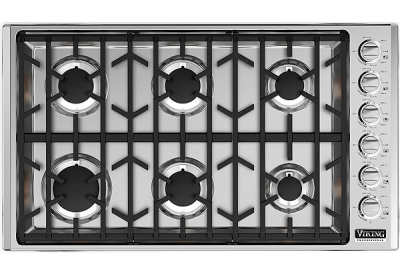 Viking - VGSU5366BSSLP - Gas Cooktops