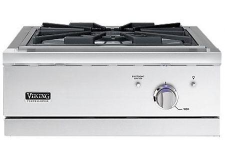 Viking 24 stainless built in wok cooker vgwto5241nss for Viking wok burner