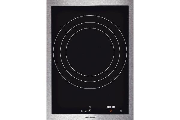 "Large image of Gaggenau 15"" Vario 400 Series Electric Induction Wok Cooktop - VI414611"