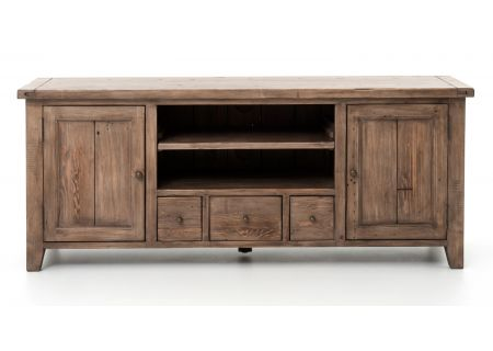Four Hands Irish Coast Collection Sundried Ash TV Console  - VICA-13-11