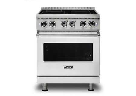 "Viking 30"" Professional 5 Series Stainless Steel Electric Induction Range - VIR5304BSS"