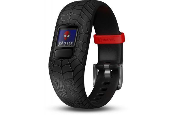 Garmin Vivofit Jr. 2 Black Marvel Spider-Man Kids Fitness Tracker - 010-01909-37