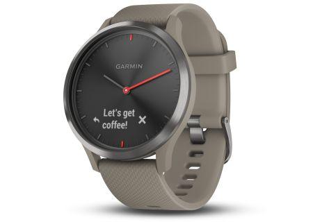 Garmin vivomove HR Sandstone With Slate Hardware Smartwatch - 010-01850-13