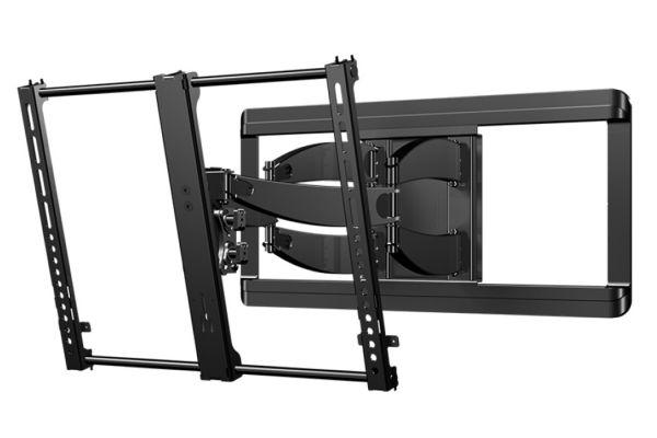 """Sanus Super Slim Full Motion Black 46-90"""" Flat Panel TV Mount - VLF628-B1"""