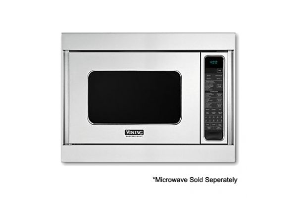 """Large image of Viking 27"""" Professional 5 Series Stainless Steel Custom Convection Built In Trim Kit - VMTK277SS"""