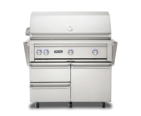Viking 36 stainless natural gas grill vqgfs5360nss for Viking professional outdoor grill